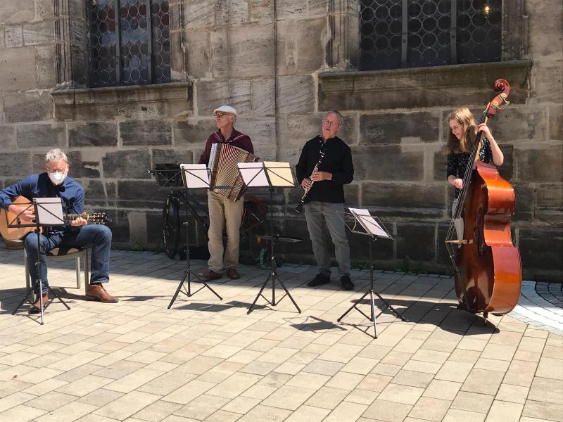 Musik zur Marktzeit, Straßenmusik